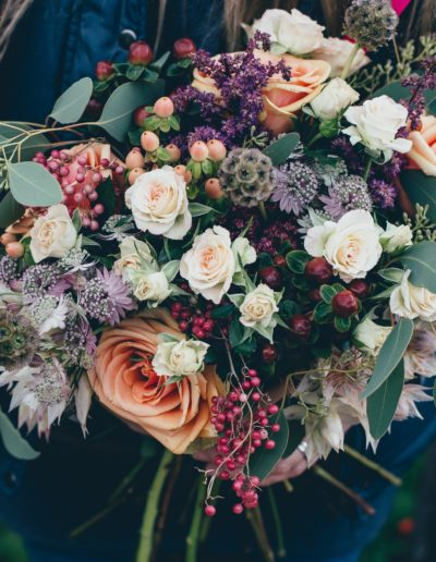 Wedding bouquet for Boho Style Wedding