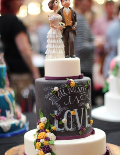 Contemporary and Modern Wedding Cake