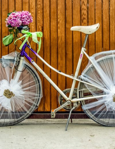 Boho Wedding ladies-bicycle