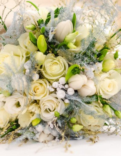 Traditional and Classic Wedding Flower Bouquet
